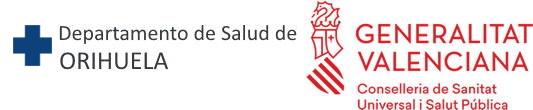 Departamento de Salud de Orihuela Logo